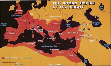 Height Of The Roman Empire Map.Maps Of The Roman Empire Bartlett Middle Schoolworld History